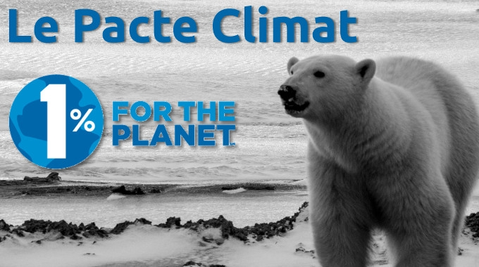 Pacte climat 1% for the Planet : ATMOTERRA est signataire