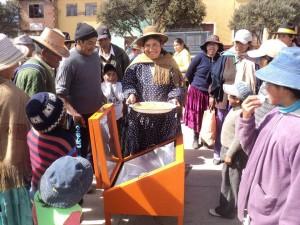 Cuisson solaire en Bolivie