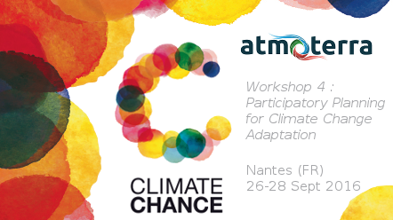 Meet us at the Climate Chance Summit