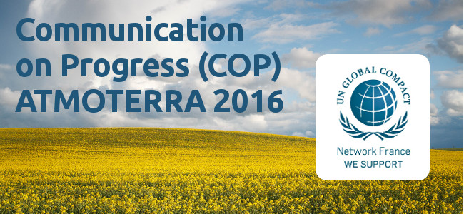 Global Compact : Communication on Progress (COP) 2016