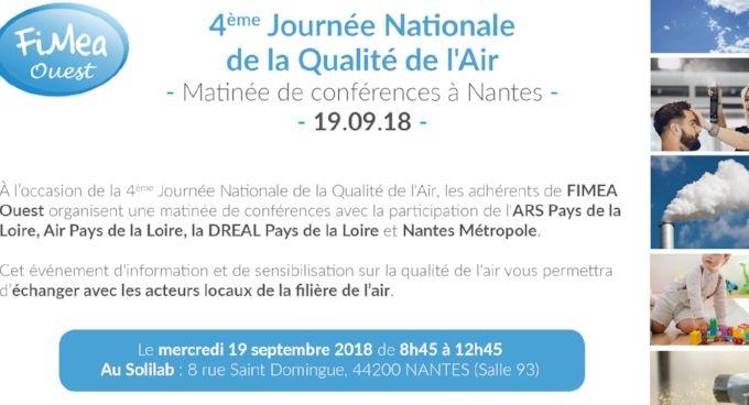 Journée nationale de la qualité de l'air – Nantes 19/09/18 – JNQA 2018