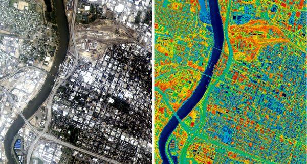2020 – Stage en Cartographie – SIG – Îlot de Chaleur [offre pourvue]