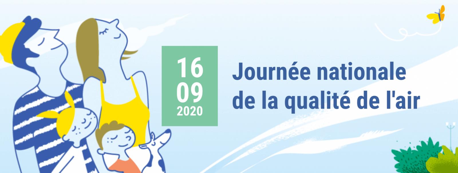 Journée Nationale de la Qualité de l'Air 2020