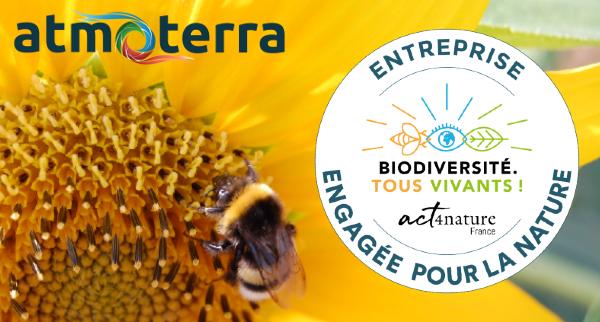 Atmoterra devient une Entreprise Engagée pour la Nature !